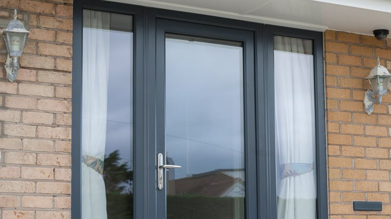 PVCu Doors by New Look WIndows
